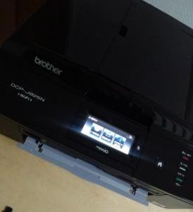 CD/DVDレーベル印刷はMP610より設置が楽