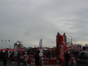 コカコーラロンドンチャレンジ