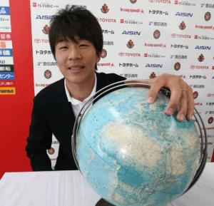 永井、オリンピック代表選出おめでとう