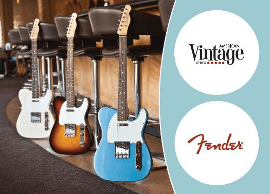 FenderのAmerican Vintage シリーズがリニューアル