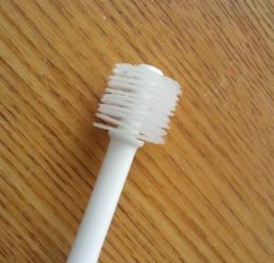 ベビー用360度歯ブラシ