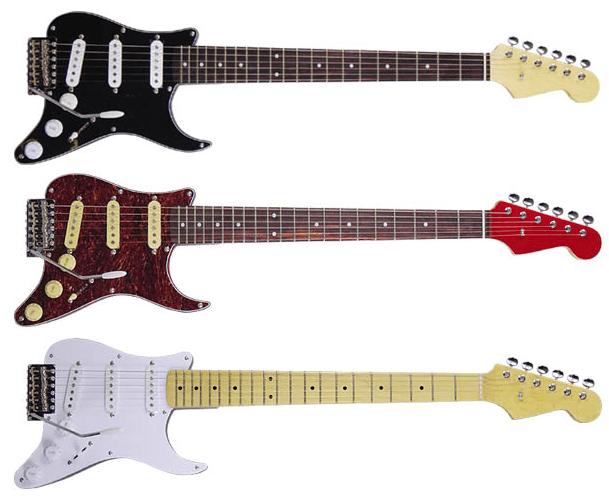 ピックガードギター