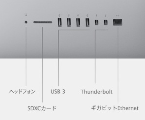 iMac 2013 背面