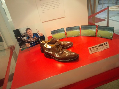 伝説の革靴展示
