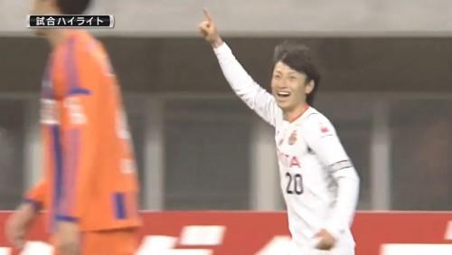 矢田くんバースデー&プロ初ゴール