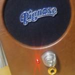 ピグノーズ・アンプの改造その後(配線やり直しとバッファとLED追加)動画あり