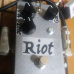 Suhr Riotを製作(自作エフェクター)