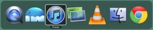 Command + Tab を押して現れるアプリ一覧