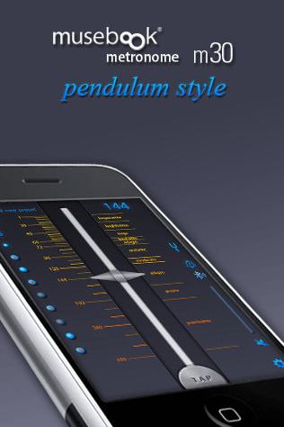 m30 pendulum style free (musebook metronome)