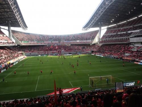 2012/11/24 J1 第33節 ホーム鹿島戦(トヨスタ)