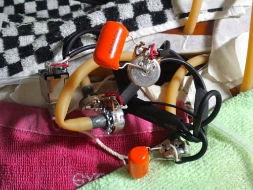オレンジドロップ0.022mf 600Vに交換