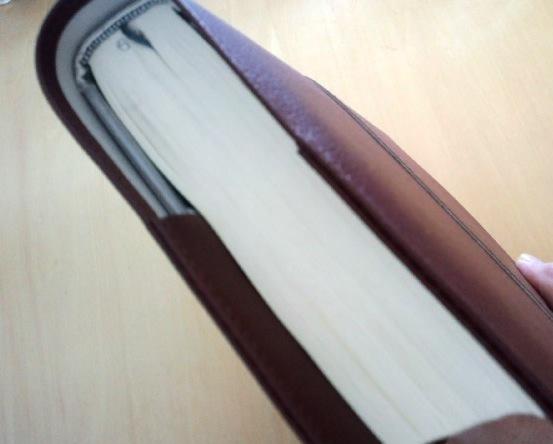 33ミリの本を入れたところ