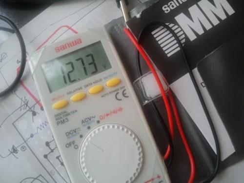 ファミコンアダプタの電圧