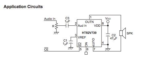 HT82V739回路図