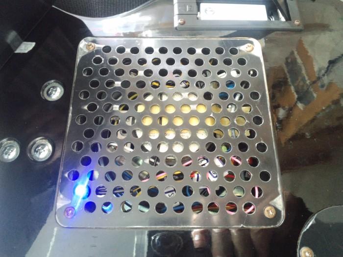 LEDも取り付け