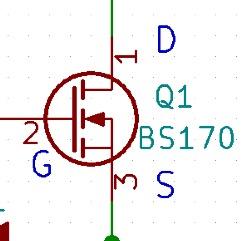 BS170付近の回路図