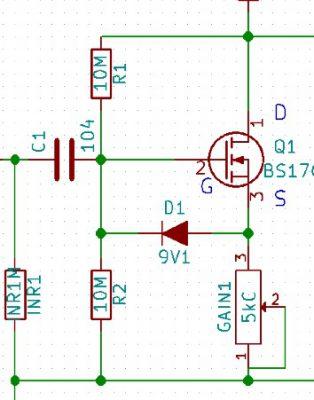 BS170付近の回路図1